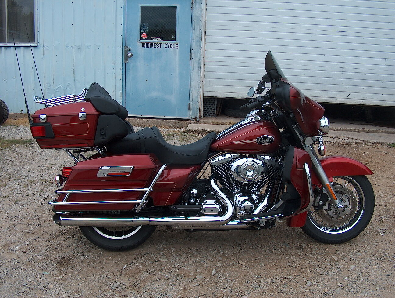 2009 harley davidson flhtcui ultra classic used harley davidson touring for sale in green bay. Black Bedroom Furniture Sets. Home Design Ideas