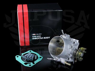 BLOX RACING 70mm Tuner Throttle Body B-Series Honda Acura B18A B18C B16A VTEC (Race Throttle Body)