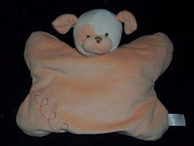 Gund Mandarine Mini Baby Gemütliche Welpe Hund Decke Plüschtier Spielzeug
