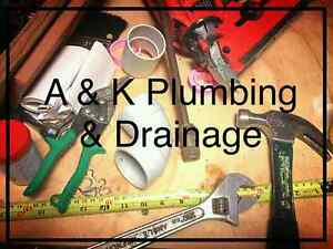 A & K Plumbing & Drainage Weekend & After Hours Work Ipswich Ipswich City Preview