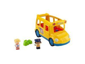 Mattel Fisher-Price Little People Schulbus Inklusive 2 Figuren Edition Spielzeug