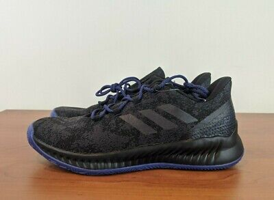 Adidas Harden B/E X Black Metal Blue Men's Basketball Shoes F97250 Size 11