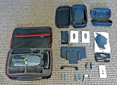 DJI Mavic Pro + Props + 2 Cases + ND Filters + Signal Extender + Feet + MORE