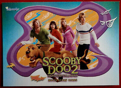 SCOOBY DOO 2 - MONSTERS UNLEASHED - Promo Card P2 - Inkworks 2004