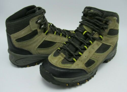 Denali Leather Hiking Boot - Size US Youth 3 / EUR 35 - Tan - Non-Marking sole