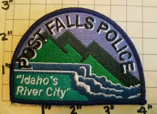Post Falls (ID) Police Department Patch     ***NEW***