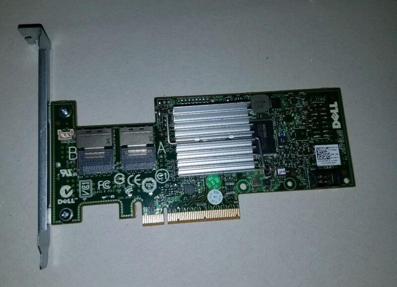 Dell 47MCV PERC H200 6Gbps PCI-E Raid Controller Flashed IT Mode U039M