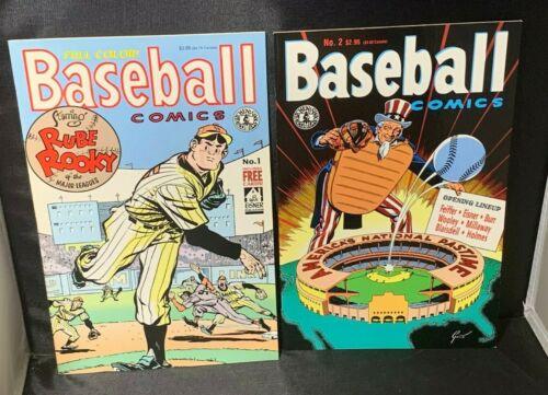 Baseball Comics # 1 -  2 Kitchen Sink Comix Comic