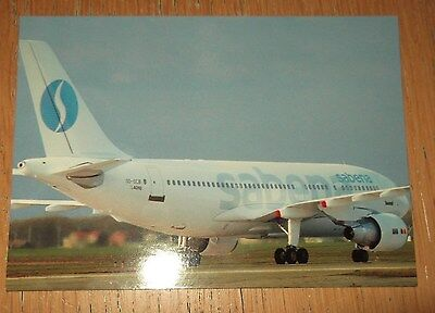 Sabena Airbus A310 branded postcard MINT CONDITION