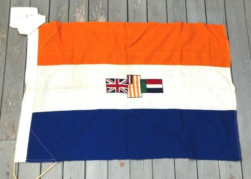 Vintage Union of South Africa African Flag Marine Ship Courtesy Yacht Pre 1961