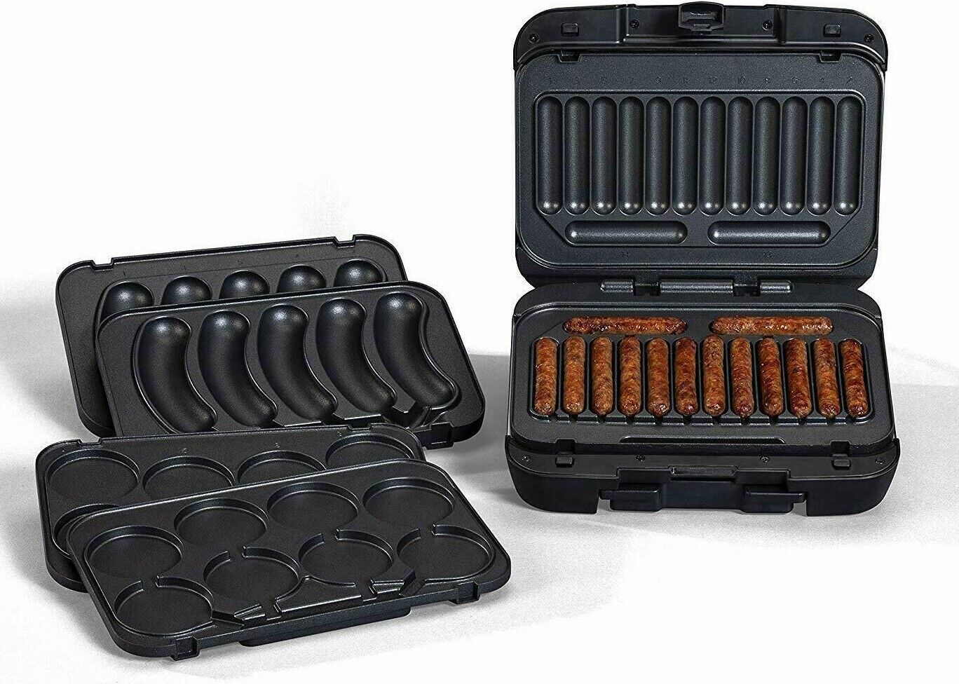 Johnsonville Sizzling Sausage Indoor Electric Grill with Rem