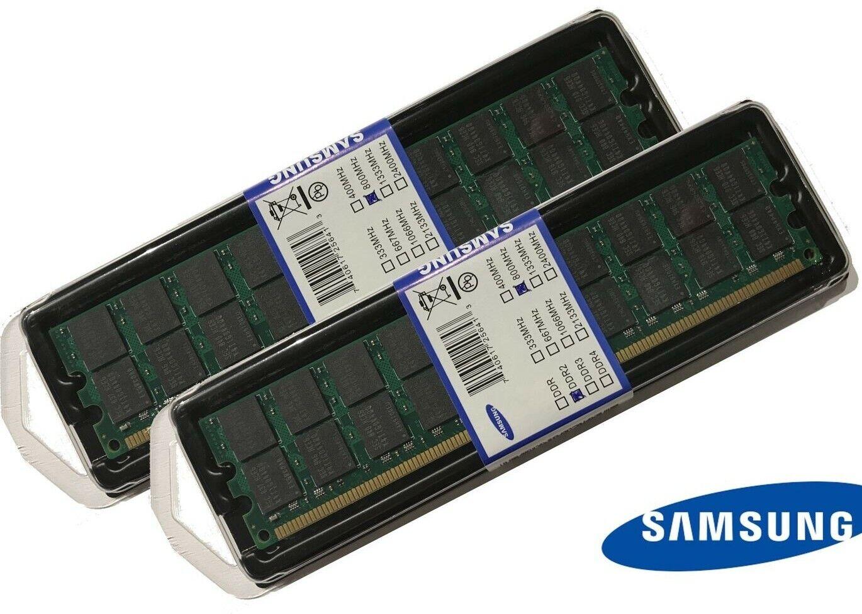 8GB (2 x 4GB) DDR2 RAM PC2-6400 800/667/533 MHz SAMSUNG Arbeitsspeicher nur AMD