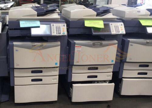 Toshiba E-studio 255 Mono Mfp Laser Printer Scanner Copier 25 Ppm  A3