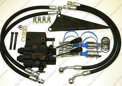 Dual Hydraulic Valve Kit For Massey Ferguson Tractor 35 65 135 150 165 175 180