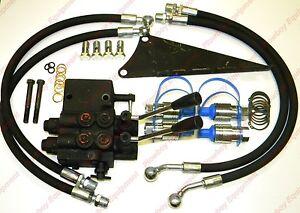 Dual Hydraulic Valve Kit for Massey Ferguson Tractor 35 65 135 150 165 175 180+