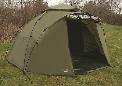 TF Gear Force 8 Carp Fishing Bivvy 1 Man EX DEMO, Quick Erect, Groundsheet TFG