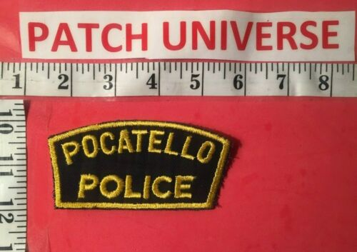 VERY OLD POCATELLO IDAHO POLICE SHOULDER PATCH  N040