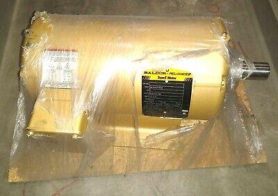 Baldor Reliance Super-e Electric Motor 5hp 208-230460v 60hz