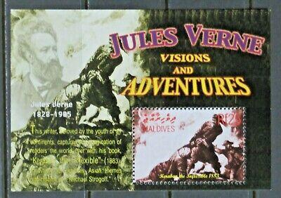 MALDIVES(4) 2004 Souvenir Sheet SC# 2820 MNH Jules Verne Keraban the Inflexible