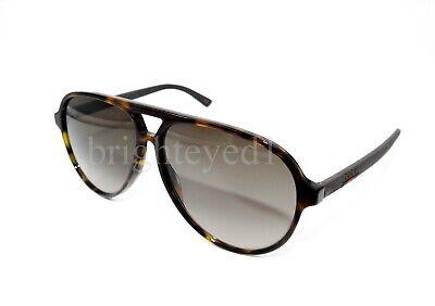 Authentic GUCCI Tortoise Pilot Aviator Sunglasses GG0423S - 009 *NEW*