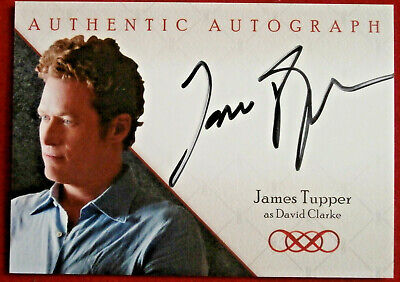 REVENGE - JAMES TUPPER as David Clarke - AUTOGRAPH CARD A6 - CRYPTOZOIC 2013