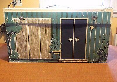 Vintage 1962 Cardboard BARBIE DREAM HOUSE ----- FREE SHIPPING !!!