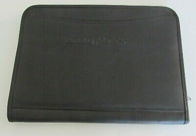 New Dreamworks Faux Leather Business Office Portfolio Binder Zippered.