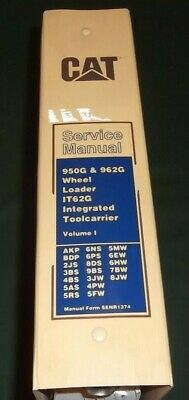 Cat Caterpillar 950g 962g Loader It62g Toolcarrier Shop Repair Service Manual I