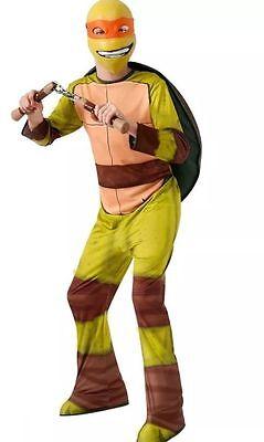 Teenage Mutant Ninja Turtle Michelangelo Halloween Costume (New Teenage Mutant Ninja Turtle Michelangelo Medium 8-10 Halloween Costume)