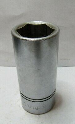 Williams HD-640  3//4 Drive Deep Socket 1-1//4-Inch 6 Point