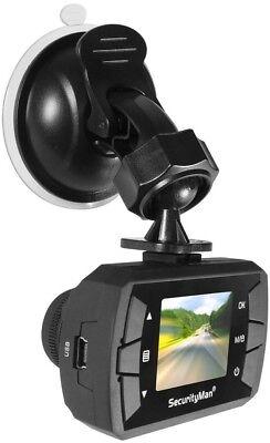 SecurityMan CARCAMMICRO – Dash Cam Surveillance and PC Cam