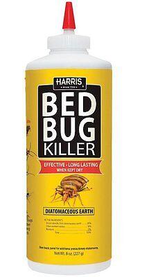 Harris HDE-8 Bed Bug Diatomaceous Earth Powder, 8