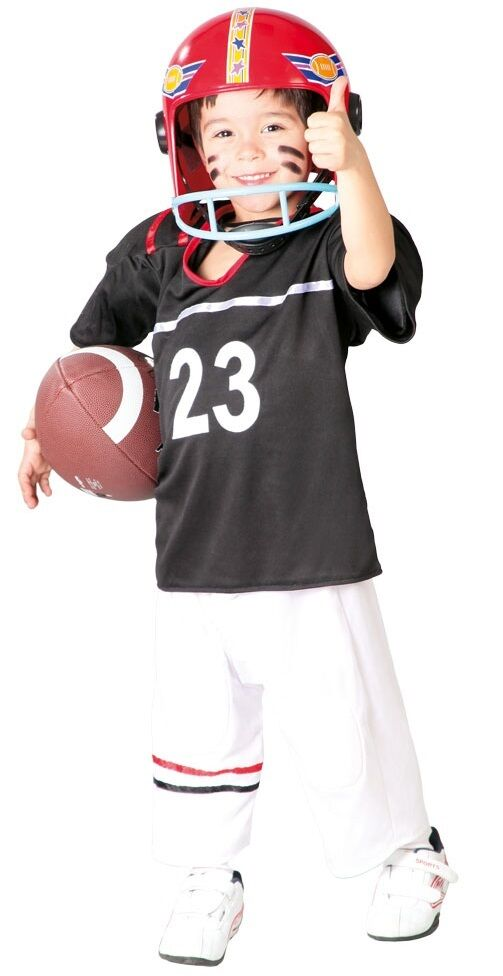 Details About Boys American Football Quarterback World Fancy Dress Costume Outfit 5 12 Years