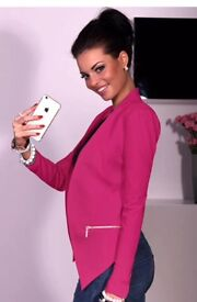 Ladies pink jacket NEW