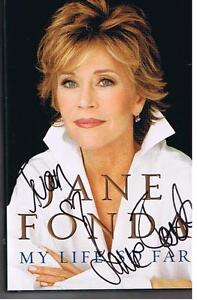 599 page HCB Autog F&B by Jane  Fonda ex condition
