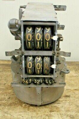 Vintage Veeder-root Mechanical Computer Calculator For Gas Pump