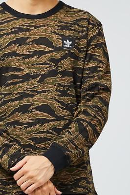 Adidas Long Sleeve Top - Adidas Originals Thermal AOP Long Sleeve Camo Tee ClimaLite Top New