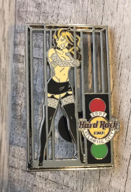 2007 Pinaversary HARD ROCK CAFE Atlantic City ATC SEXY CAGE DANCER Stripper HRC