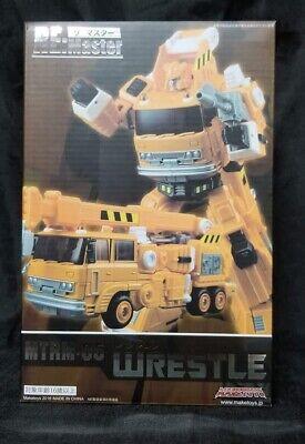 Maketoys MTRM-05 Wrestle Transformers Masterpiece Grapple MIB 100% Complete!
