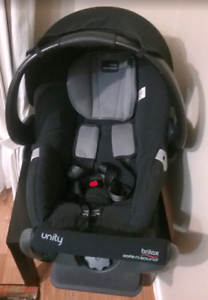 Britax Safe N Sound Unity Neos baby car capsule infant car seat