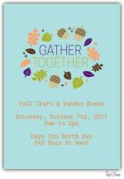 Gather Together Fall Craft &a Vendor Event