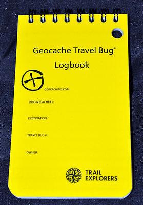 Geocache Travel Bug Logbook Rite in the Rain