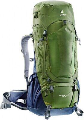 7ae3496ba7 Backpack Backpack Trekking Hiking Deuter Aircontact pro 70+ 15 Pine Navy