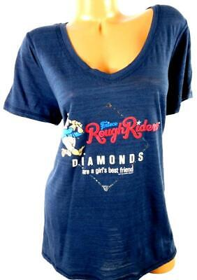 Soft as a grape blue frisco rough riders diamonds are girl's best top 1,