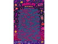 PLANET VIP Parklife Weekend Ticket - Selling at FV