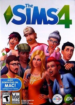 The Sims 4  Brand New Factory Sealed Pc   Mac 2014    Free Shipping