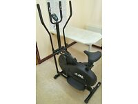 JLL CT100 2-in-1 Elliptical Cross Trainer & Dual Action Exercise Bike