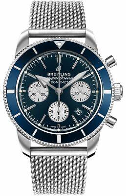 Breitling Superocean Heritage II B01 Chronograph 44 Blue Watch AB0162161C1A1