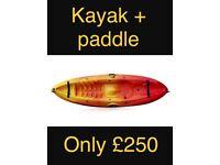 RTM mambo single seater kayak sit on top