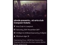 *4 Abode presents... at Arts Club Liverpool tickets